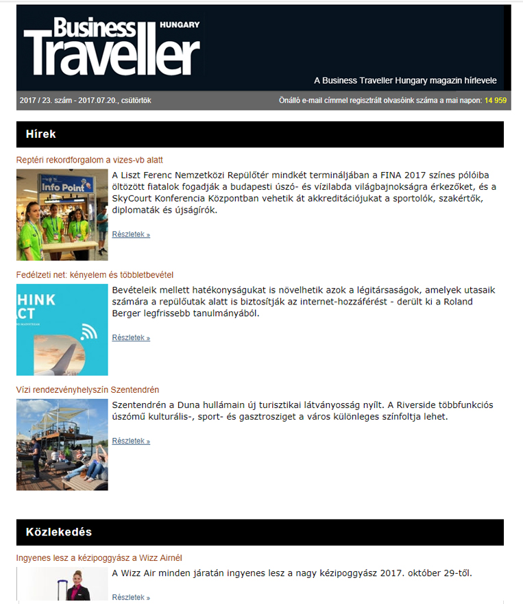 The Business Traveller Portal Provides Those With An Interest In Corporate Travel Organization Latest News Features Novelties And Specific Offers